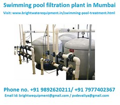 Swimming pool filtration plant in Mumbai. (brightwater986) Tags: swimmingpool swimmingpoolfiltrationsystems brightwaterequipment dahisar borivali andheri bandra virar bhayandar kurla navimumbai