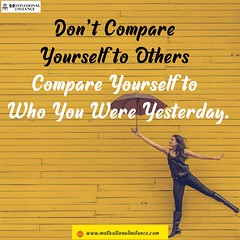 compare (motivationalinstance) Tags: inspirational motivational motivationalquotes inspirationalquotes new perspective