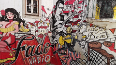 Fado vadio (Travel Marco) Tags: portugal lisboa lisbona art fado music graffiti street streetart streetphotography huawei smartphone