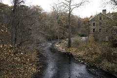 The Mill (JMS2) Tags: architecture scenic outdoor river nybg fall autumn landscape bronx