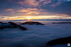 daybreak (yves_matiegka) Tags: switzerland sunrise snow winter landscape nature mountains cloudscape fog