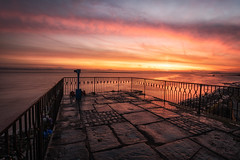 Eastham Ferry (Rob Pitt) Tags: easthamferry wirral sunrise colour mersey merseyside