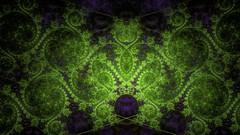 magical green (dolcekyoko) Tags: wallpapers wallpaper fractal fractals