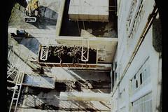 ESB Allenwood - The lift' (2c..) Tags: esb allenwood 2c 2cimage industry bog allen kildare ireland irish rare colour bord na mona 1991