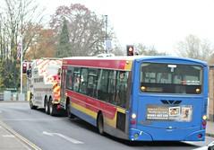 Photo of Trustybus / Galleon Travel ( 2009 ) Ltd . Roydon , Essex . YN04GMG . Bishop's Stortford , Hertfordshire . Thursday 21st-November-2019 .