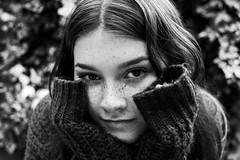 CassieGarden (emileighwade) Tags: portrait black white beautiful beauty eyes photography nikon depth