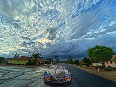 Let it Rain (oybay©) Tags: suncitywest arizona cavecreek stagecoachroad stagecoach road windingroad winding porsche car automobile color colors colorful timeless vista landscape