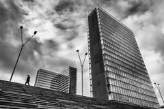 La BnF - Bibliothèque Nationale de France (Mustafa Selcuk) Tags: skyscraper stairs noiretblancphotographie noiretblanc bwphoto bnw blackandwhite labnf bibliothequenationaledefrance bibliothéque library streetphotography streetphotographer street monochrome monochromatic architecture minimalism minimalist parisian 2019 paris france fujifilm fujifilmfrance