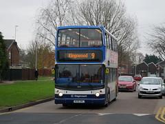 [LOAN] Stagecoach East 18344 - AE55 DKL (Hullian111) Tags: stagecoach east long sutton 18344 dennis trident alexander alx400 ae55dkl ae55 dkl loan
