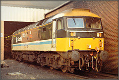 47705 'Lothian' (Jason 87030) Tags: brush duff spoon class47 sehd depot scotrail blue stripe livery scan visit bash loco engine br britishrail wheels locmotive