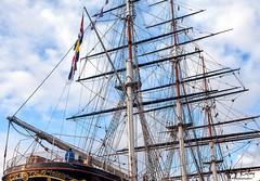 CUTTY SARK (mark_rutley) Tags: cuttysark sailingship clipper teaclipper greenwich london maritime mast flags bunting
