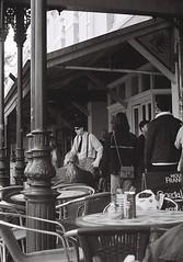 Street 1 (adam_h_photo) Tags: olympuspenft ilford xp2 400 monochrome halfframe analogue analog photofilmy filmphotography film 35mm blackandwhite ishootfilm istillshootfilm lensculture