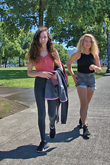 Shot From The Hip (Scott 97006) Tags: ladies woman females walking candid beauties cute