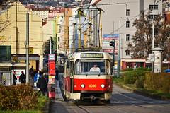 Tatra T3R.P #8396 DP Praha Prag Praga (3x105Na) Tags: tatra t3rp 8396 dp praha prag praga strassenbahn strasenbahn tram tramwaj tramvaj czechy českárepublika tschechien