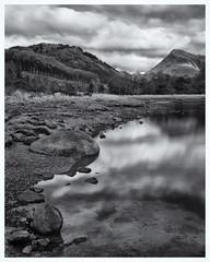 Glen Etive, Scotland(2) (S.R.Murphy) Tags: glenetive highlands landscape lochetive oct2019 scotland mountains mountainrange mountain bw bnw blackandwhite whiteandblack monochrome