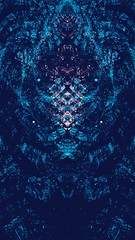 abstract world of lights blue (dolcekyoko) Tags: wallpapers wallpaper fractal fractals