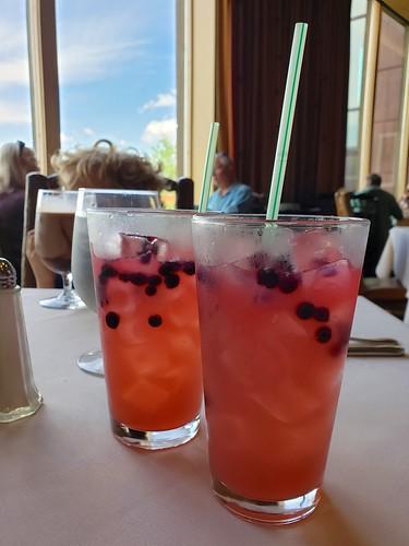 Huckleberry Iced Tea