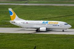 EI-DNT (PlanePixNase) Tags: aircraft airport planespotting haj eddv hannover langenhagen airunion krasair boeing 737300 733 737 b733