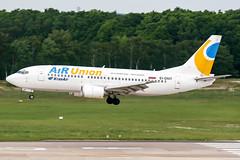 EI-DNT (PlanePixNase) Tags: airport aircraft hannover boeing 737 haj 733 planespotting langenhagen 737300 b733 krasair airunion eddv