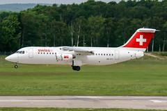 HB-IYY (PlanePixNase) Tags: aircraft airport planespotting haj eddv hannover langenhagen swiss avro 100 rj100 bae