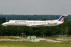 F-GUBA (PlanePixNase) Tags: aircraft airport planespotting haj eddv hannover langenhagen airfrance regional embraer 145 e145