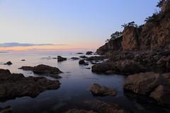 at Sasagawanagare in Niigata prefecture (yasushiinanaga) Tags: landscape sea rocks sunset japanimage canoneos6d ef2470mmf4lisusm 24mm