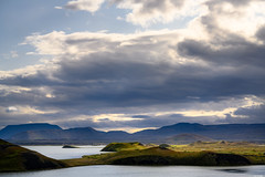 Skútustaðagígar (Rico the noob) Tags: dof z7 landscape nature outlook mountains outdoor lake clouds iceland travel 2470mmf28s published sky 2470mm hills 2019 water mountain