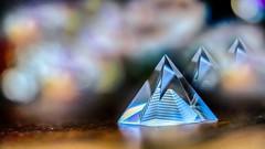 #Pyramide - 7742 (✵ΨᗩSᗰIᘉᗴ HᗴᘉS✵82 000 000 THXS) Tags: pyramide geometry pyramid forme cristal glass bokeh macro three trois trio sony sonyrx10m3 sigma sigmaart belgium europa aaa namuroise look photo friends be yasminehens interest eu fr party greatphotographers lanamuroise flickering