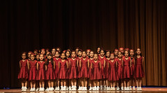 Choir (aimanraza) Tags: children choir singing performing stage lamartiniere girls college lucknow manual high iso