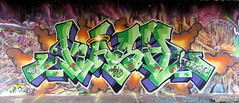 Graffiti in Amsterdam (wojofoto) Tags: amsterdam nederland netherland holland flevopark hof halloffame amsterdamsebrug graffiti streetart wojofoto wolfgangjosten kash
