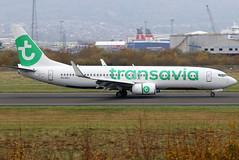 PH-HXJ (GH@BHD) Tags: phhxj boeing 737 738 737800 b737 b738 7378k2 hv tra transaviatransaviaairlines belfastcityairport bhd egac aviation aircraft airliner