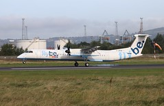 Flybe G-JECN BHD 10/09/19 (ethana23) Tags: planes planespotting aviation avgeek aircraft aeroplane airplane flybe dash8 dehavillandcanada dehavilland q400 bombardier