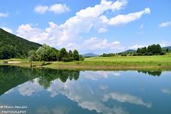 Ogulin, Croatia - Lake Bukovnik - summer reflection (Marin Stanišić Photography) Tags: lake bukovnik ogulin croatia summer reflection karlovaccounty nikon d5500