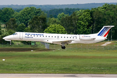 F-GUBG (PlanePixNase) Tags: aircraft airport planespotting haj eddv hannover langenhagen airfrance regional embraer 145 e145