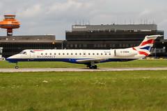 G-EMBN (PlanePixNase) Tags: aircraft airport planespotting haj eddv hannover langenhagen british britishairways embraer 145 e145 baconnect