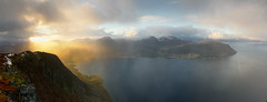 View (RuneKC) Tags: troms kasfjorden fjord norway water ocean mountain nature wilderness landscape