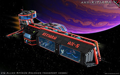 AX5 - Kitiara (spaceruner) Tags: lego moc space ship spaceship spyrius 90s kitiara spaceruner
