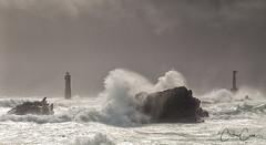 Île d'Ouessant, coup de vent à la pointe de Pern (cedric.cain29) Tags: cedriccaïn ouessant îledouessant iroise bretagne finistère phare lighthouse pharedenividic nividic lumièresdouessant rochers paysages bzh tempête pointedepern