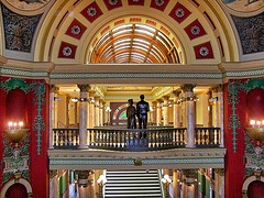 Helena Montana - State Capitol  Gand Stairway  - Mike , Maureen Mansfield Statues (Onasill ~ Bill Badzo - 67 M) Tags: montana mike mt state senator grand capitol staircase maureen mansfield nrhp hlena lawmaker city family house building fashion architecture america de landscape greek four design democracy kent interesting construction couple day branch control bell authority capital honor engineering landmark historic direction governor american dome assemble destination designs government americana civic law helena leaders activity executive administration democrat engineer interest democratic debate laws excursion attraction assembly appeal governmental bureaucrat appealing bureaucrats onasill