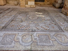 Mosaic floor, Archeological Museum, Rhodes (luckypenguin) Tags: greece aegean dodecanese rhodes rodos unesco worldheritagesite archeologicalmuseum museum mosaic