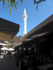 Minaret, Rhodes Old Town (luckypenguin) Tags: greece aegean dodecanese rhodes rodos unesco worldheritagesite