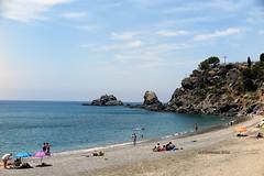 Playa de San Cristobal.Almuñecar.(Granada) (lameato feliz) Tags: almuñecar granada playadescristobalalmuñecar