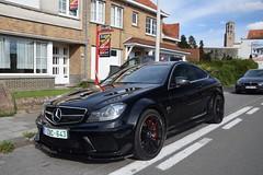 Mercedes-Benz C 63 AMG Coupé Black Series (dees_carspotting) Tags: mercedesbenz c 63 amg coupé black series belgium knokke 20181007 1zbc643 zoute grand prix 2018 zgp18 zgp2018