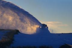 Run…rabbit…run! (Moffat Road) Tags: unionpacific up snowplow rotary dusk rabbit snow rotarysnowplow kansaspacific kp uplimonsub 900082 arapahoe colorado train railroad co
