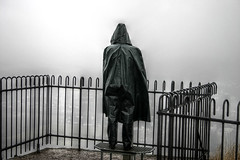 November Blues (kleppertomanie) Tags: klepper raincoat cape raincape leather boots hood wellies