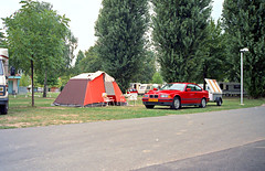 Bormes95100 (72grande) Tags: 1995 saôneetloire mâcon campingmunicipaldemâcon bmw 316i coupé e36