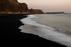 Light good afternoon. A beloved, heavy spouse barks above the zebra. (wooiwoo) Tags: vikiceland iceland blacksandbeach beach ocean landscape travelphotography icelandic photography vik surf roadtrip blacksand longexposure southcoast travel