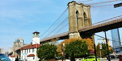 Brooklyn bridge (tareqsmith) Tags: ny nyc newyorkcity newyork bridge pont brooklyn sky ciel bleu blue etatsunis usa fall automne ville city