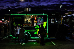 StreetMeat2019(NY) (bigbuddy1988) Tags: people portrait photography nighttime nikon nikkor new usa digital green lights light dark color colour nyc sky neon d7000