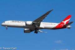Qantas | VH-ZNH | Boeing 787-9 Dreamliner | JFK | KJFK (Trevor Carl) Tags: aircraft alltypesoftransport newyork airlinersnet 36241 photo unitedstatesofamerica 7879dreamliner boeing newyorkjohnfkennedy aviation jfk newyorkcity kjfk airplane vhznh plane avgeeks transport